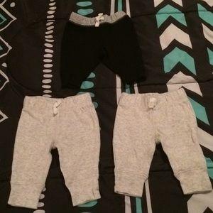 Carter's 3 piece Sweatpants Set